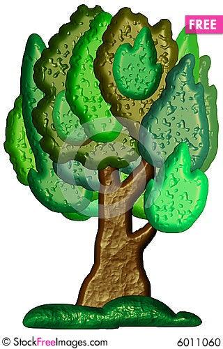 Stylized Bitmap Tree - Free Stock Photos & Images - 6011060 ...