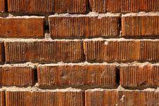 Free Bright Orange Bricks Stock Image - 6010131