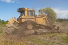 Free Bulldozer Royalty Free Stock Images - 6010199