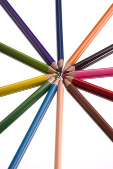 Free Crayons Royalty Free Stock Images - 6010239