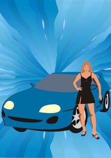 The Woman And The Car