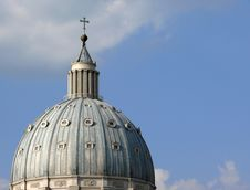 Free The Dome Of St. Peter S Basilica Stock Photos - 6010323