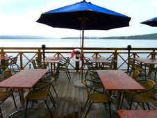 Free Seaside-restaurant Royalty Free Stock Photos - 6010598