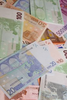 Free European Banknotes Royalty Free Stock Photos - 6010618
