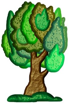 Free Stylized Bitmap Tree Stock Photo - 6011060