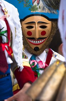 Free Galician Carnival Stock Photography - 6011392
