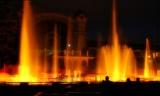 Fountain 3. Royalty Free Stock Photography