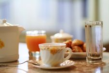 Free Coffee And Juice Stock Photography - 6012872