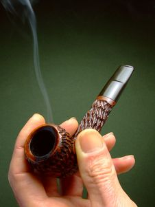 Free Pipe Smoker Royalty Free Stock Photo - 6013045