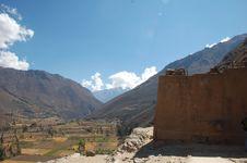 Ruins Of Ollayantambo 24 Royalty Free Stock Images