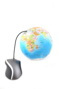Free Globe And Computer Mouse Stock Photos - 6013253