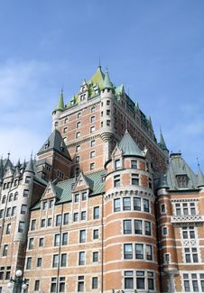 Free Quebec, Chateau Frontenac Stock Image - 6014071