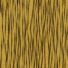 Seamless Tiger Skin Texture Stock Images