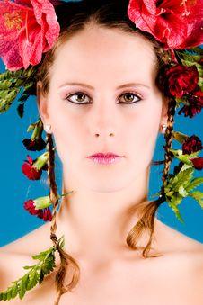 Free Flower Portrait Royalty Free Stock Photo - 6014115
