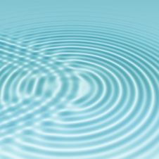 Free Clear Blue Water Ripples Stock Image - 6014641