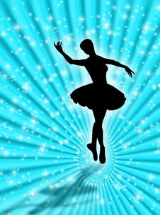 Dance In The Stars Royalty Free Stock Photo