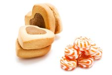 Free Cookie And Candy Royalty Free Stock Photography - 6016317