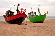 Free Fishing Boats Royalty Free Stock Images - 6016399