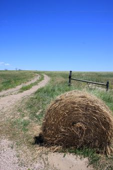 Free South Dakota Hay Bale Stock Images - 6017354