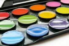 Free Water-colours Royalty Free Stock Photography - 6017777