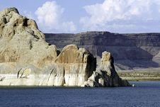 Glen Canyon And Lake Powell Stock Photo