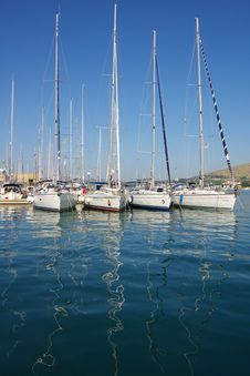 Free Yachts In Port Stock Photography - 6018342