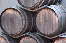 Free Wine Barrels Stock Images - 6018664