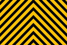 Free Hazard Warning Lines Royalty Free Stock Photos - 6018758