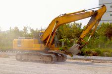 Free Excavator Royalty Free Stock Photos - 6019118