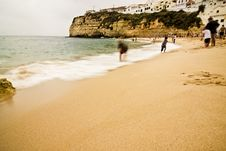 Free Carvoeiro Beach Royalty Free Stock Photo - 6019145