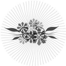 Free Floral Abstract Circle Stock Images - 6019224