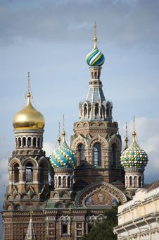 Free Russian Orthodox Church. Royalty Free Stock Photos - 6019408
