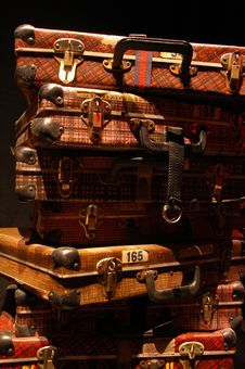Free Luggages Royalty Free Stock Photography - 6019777