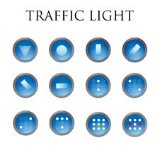 Free Traffic Light Royalty Free Stock Photos - 60180768