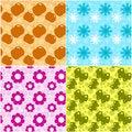 Free Seasons Seamless Royalty Free Stock Image - 6021616