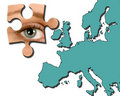 Free Eye On Europe Royalty Free Stock Image - 6021896