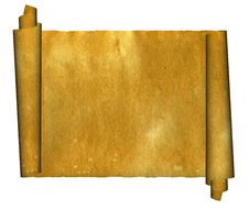 Free Vintage Grunge Rolled Parchment Illustration Royalty Free Stock Photo - 6020075