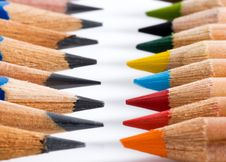 Free Colourful Pencils Royalty Free Stock Image - 6020266