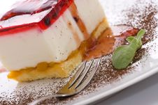 Free Sweet Cheesecake Stock Photo - 6021650