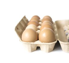 Free Packing Of Eggs Stock Images - 6021684