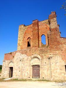 Free Facade Of S.Galgano Abbey Stock Photos - 6022283
