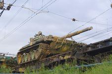 Free Russian Tank Royalty Free Stock Photos - 6022378