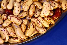 Pile Of Pinto Beans Stock Images