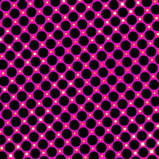 Free Pink Retro Dots Royalty Free Stock Images - 6023049
