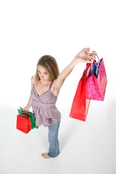 Free Shopping Victory Stock Photography - 6023312