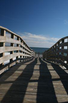 Free Boardwalk Royalty Free Stock Image - 6023656