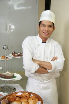 Free Junior Chef And Pastry Stock Image - 6023671