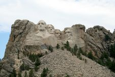 Free Monument Of Four Presidents Royalty Free Stock Image - 6023756