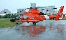 Free Orange Rescue Chopper Royalty Free Stock Photo - 6024125