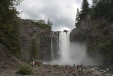 Free Snoqualmie Falls Stock Photography - 6024402